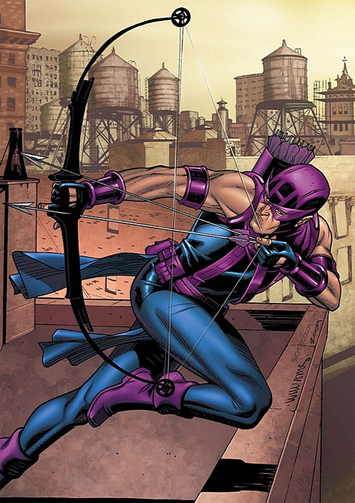 Hawkeye in color