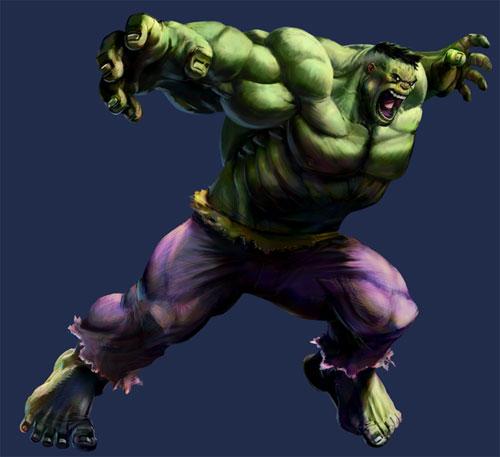 MvC2 Hulk