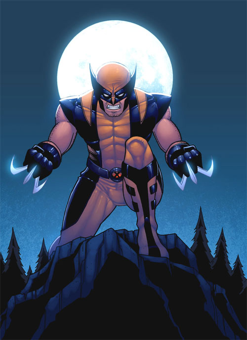 Wolverine on the Hunt