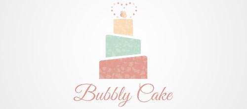cake logo design bakery