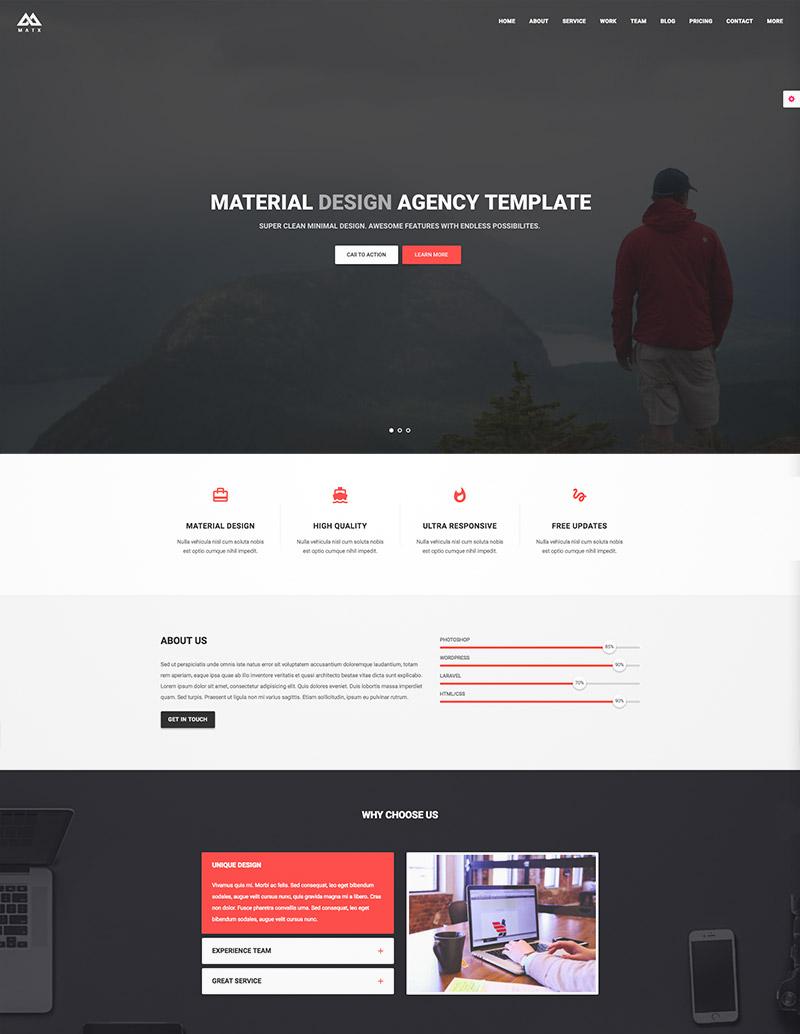 design agency theme
