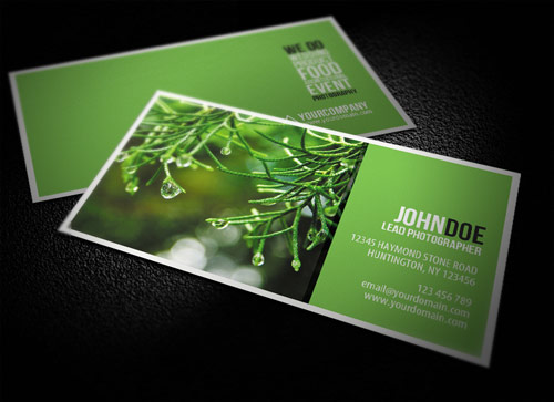 Idealistic Photography Business Card