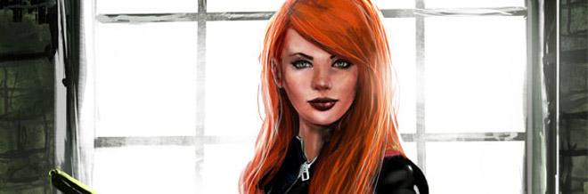 22 Black Widow Illustration Artworks