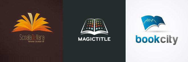 32 Brilliant Design Examples of Book Logo