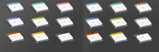25 Awesome Sets of Calendar Icons