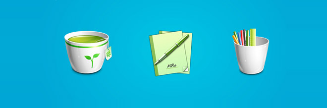 A Collection of High Quality Office Icons
