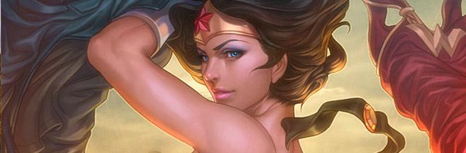 31 Wonder Woman Artworks
