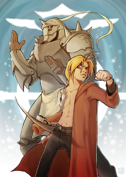 Ed and Al-Full Metal Alchemist