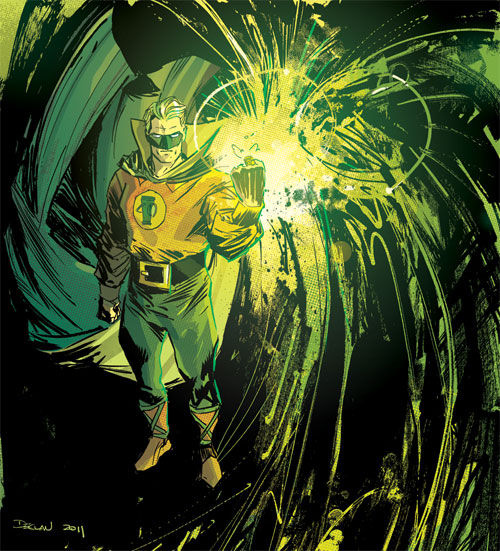 GREEN LANTERN -Alan Scott