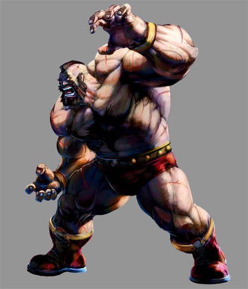 Marvel VS Capcom 2: Zangief
