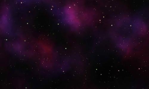 Tileable Classic Nebula Space Pattern 3