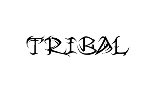 Compilation Of Awesome Tribal Font
