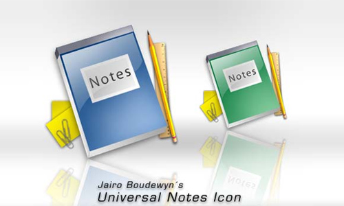 Universal Notes Icon