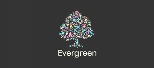 Evergreen Day Nursery 2 logo
