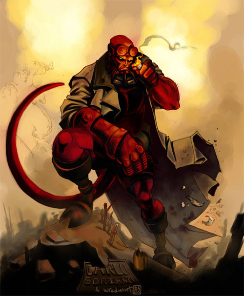 HELLBOY collab