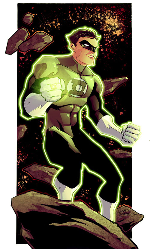 KidNotorious Green Lantern