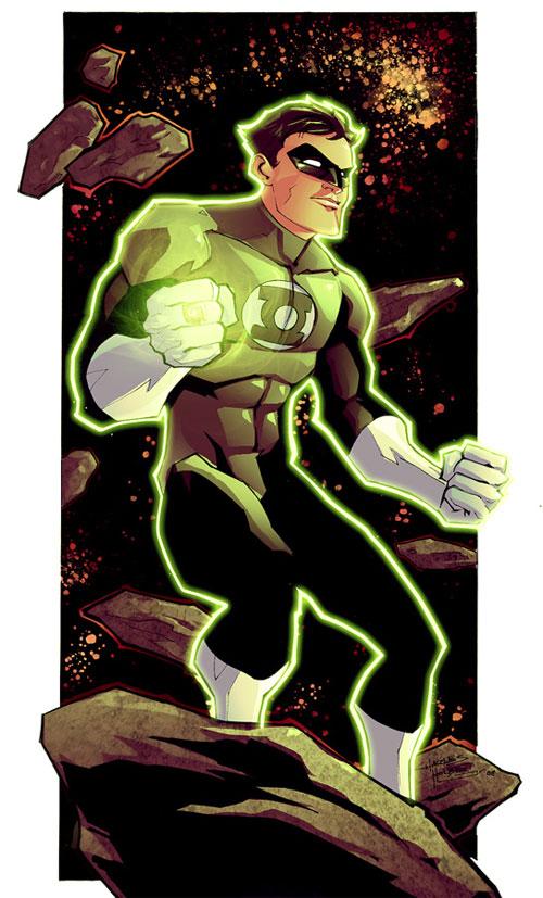 KidNotorious Green Lantern