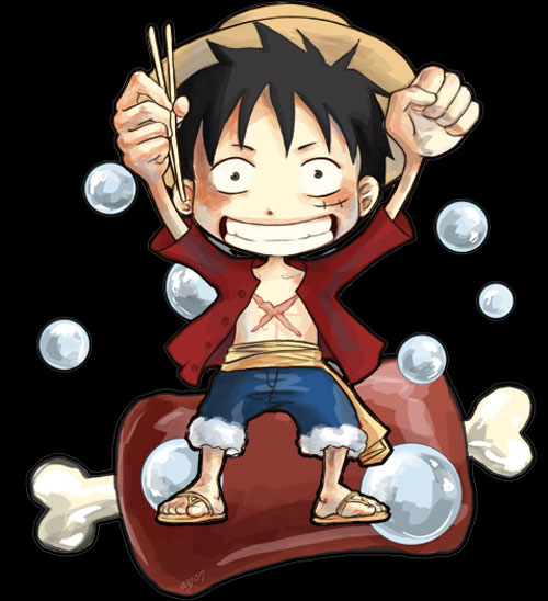 Monkey D. Luffy :: niku