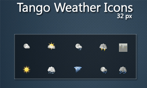 Tango Weather Icons 32px