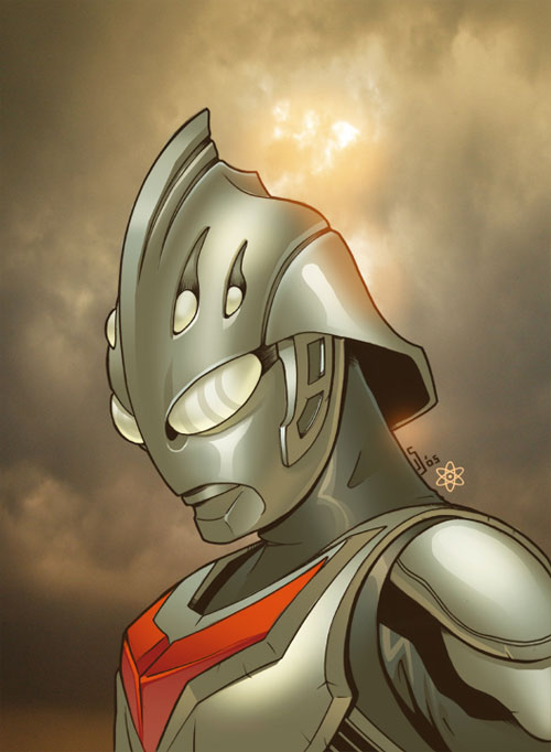 Ultraman Nexus Colored