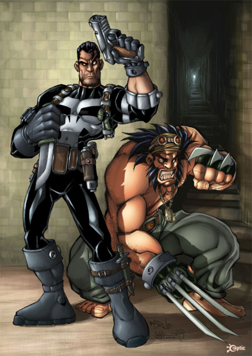 Wolvie and Punisher