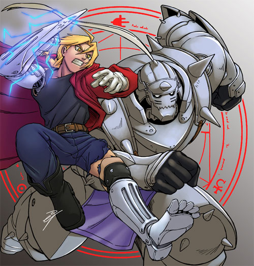 22 Edward Of Full Metal Alchemist Illustration Artworks