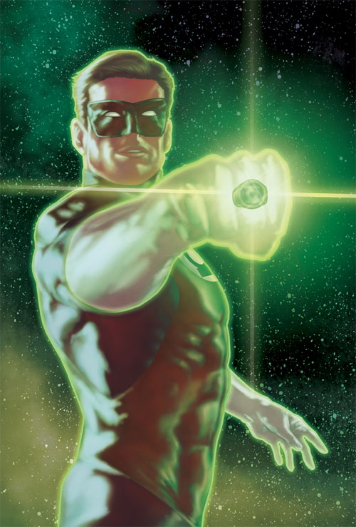 Green Lantern colors