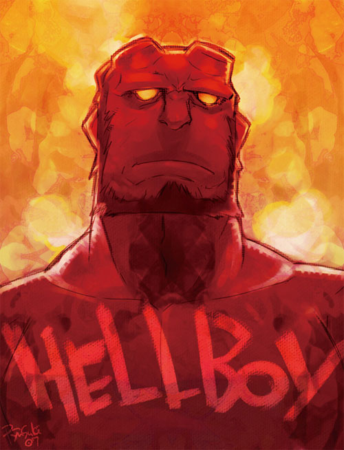 HELLBOY paint