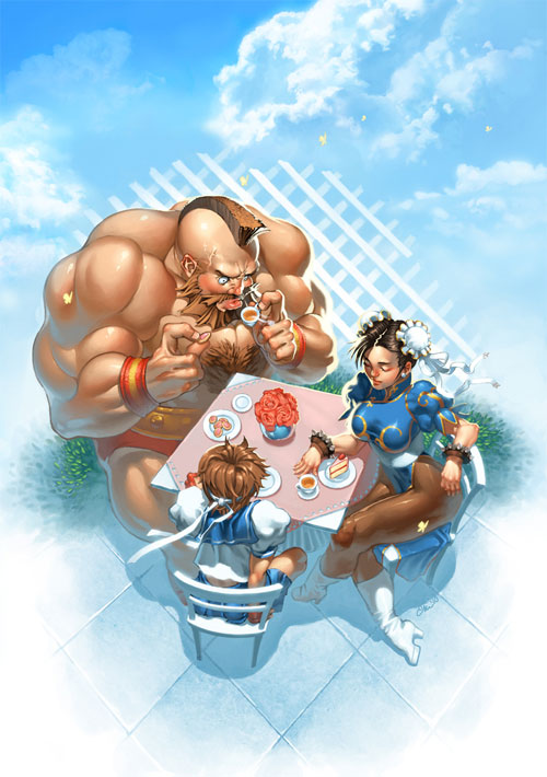 Street Fighter Tea Party
