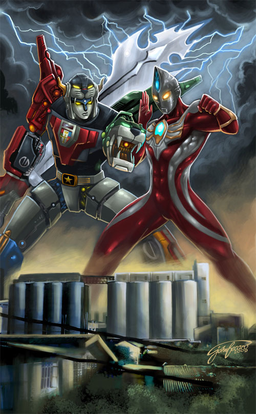 Voltron Vs Ultraman Max