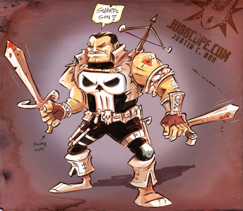 Medieval Punisher