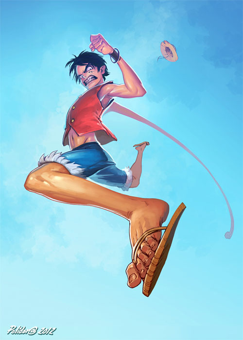 Monkey D Luffy Rejected Pose