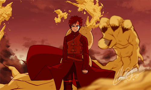 Naruto: Gaara Of The Sand