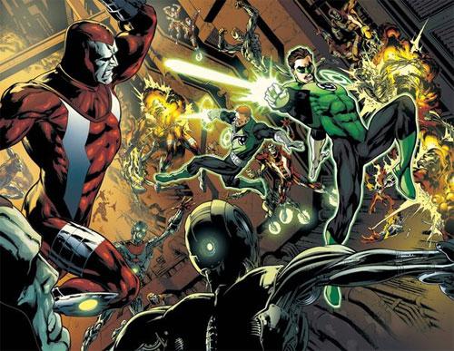 Test Green Lantern