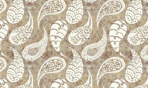 Mushroom Paisley
