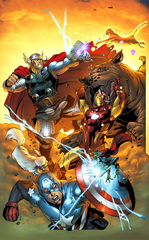 Avengers vs Pet Avengers 3