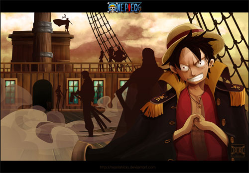 Luffy Lord of Pirates
