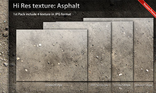 Pack of Useful Asphalt Texture