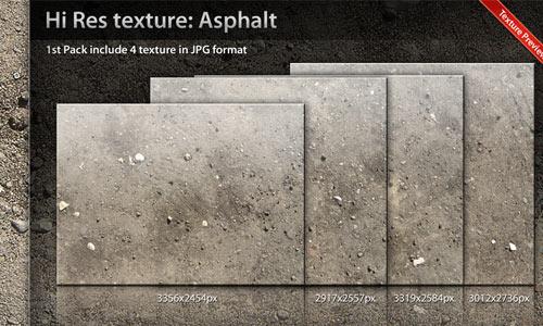 Pack of Useful Asphalt Texture