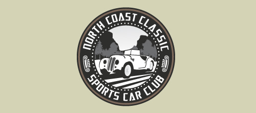 North Coast Classic Sports Car Club logo