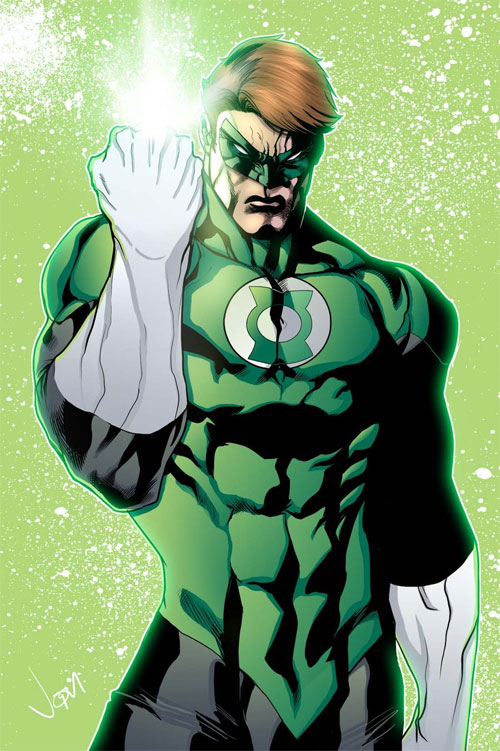 The Mighty Green Lantern