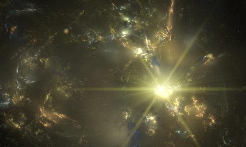 Gold Nebula
