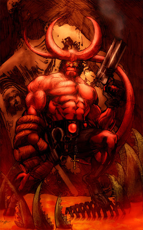 Hellboy by Justice41