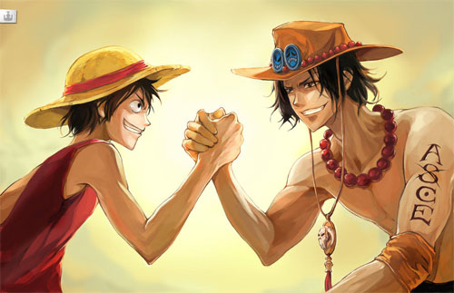 Luffy x Ace Brotherhood