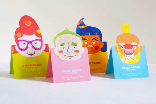 Colorfully Unique Business Card