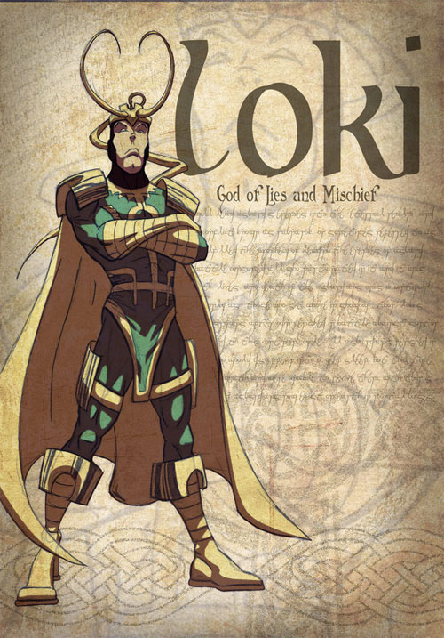 Loki God of Lies and Mischief