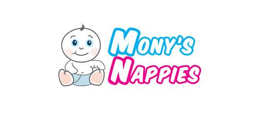 Mony's Nappies logo
