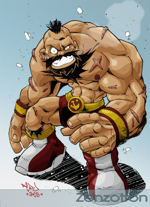 Zangief by Red-J