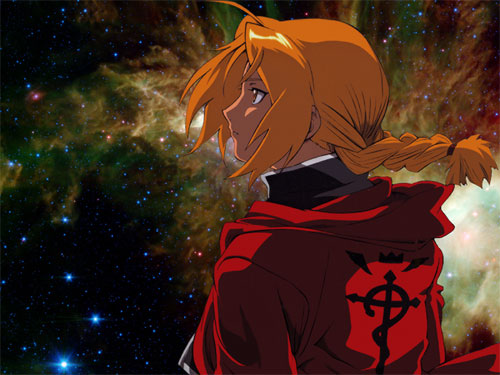 Edward Elric. Night Sky.