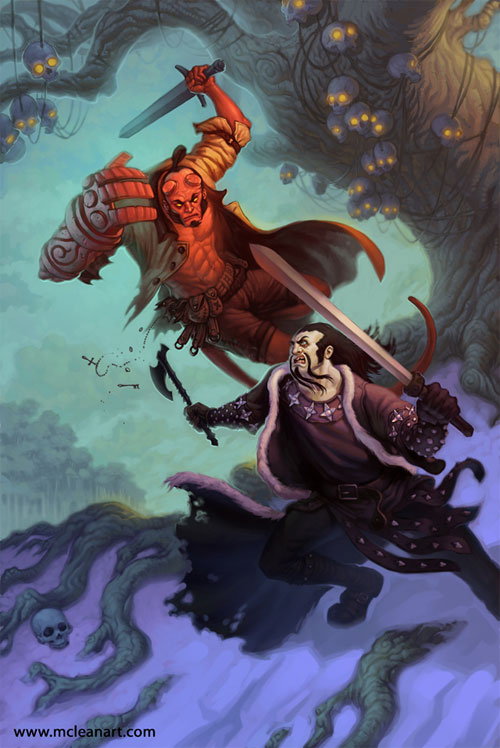 Hellboy vs Koshchei
